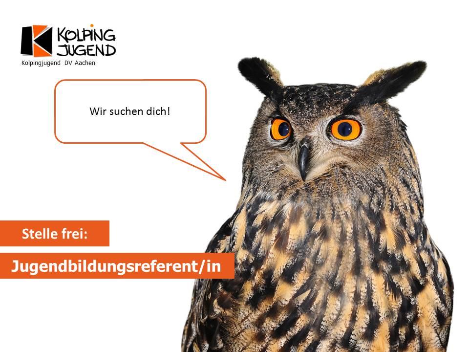 Jugendbildungsreferent/in gesucht!