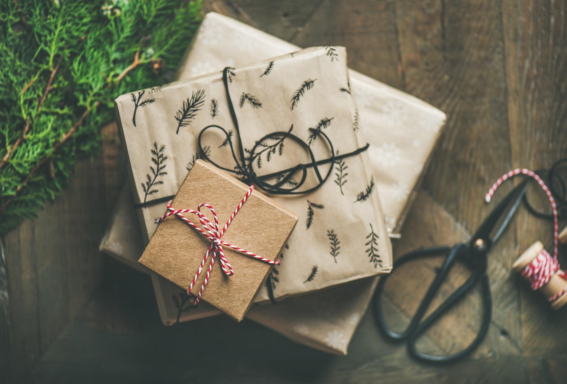 Weihnachtsgeschenkebasteln